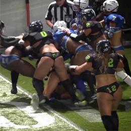 Uma bela treta no LFL (Lingerie Football League)