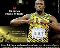 As frases marcantes de Usain Bolt