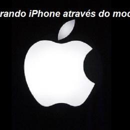 Como restaurar o iPhone usando o modo DFU