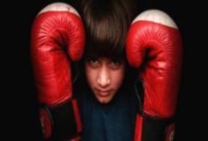 A menina de 9 anos que 'reina' no kickboxing