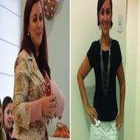 Confiram a história de Magda: Conseguiu emagrecer 25Kg, em 18 meses