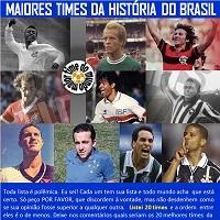 Ídolos e times inesquecíveis do futebol brasileiro