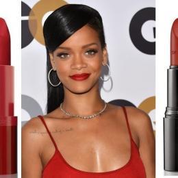 Loucas pelos batons da Rihanna