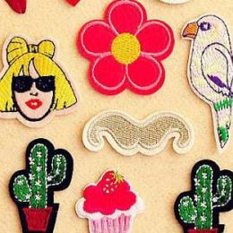 Tá na moda: patches