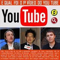 Qual foi o primeiro vídeo do YouTube?