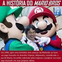 A história do Mário Bros