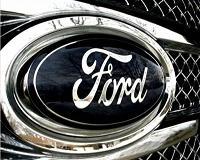 Carro da Ford com peças impressas em 3D