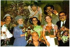 Fotos raras dos bastidores e gravações de Chaves