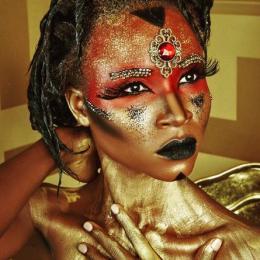 O mundo em cores da maquiagem artística