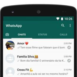 WhatsApp agora permite fixar conversas no topo da lista de mensagens
