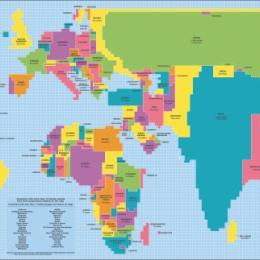Conheça 10 mapas que vão mudar a maneira que você vê o mundo