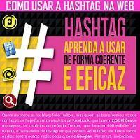 Como usar a #Hashtag na web