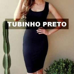 Reinventando o vestido tubinho preto