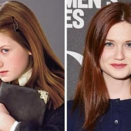 O antes e o depois de 20 ex-alunos de Hogwarts