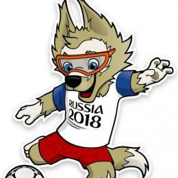 O Mascote da copa do Mundo 2018