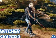 Mod em The Witcher 3 permite você andar de skate pelo mapa