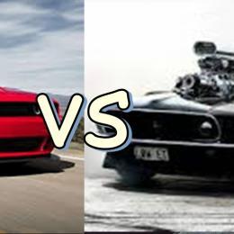 Muscle cars antigos vs novos Muscle Cars
