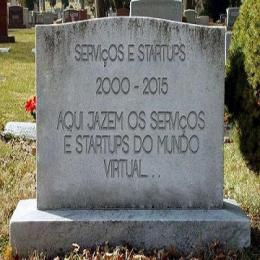 Cemitério de serviços e startups