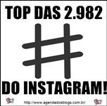 Top das 2982 hashtags do Instagram!