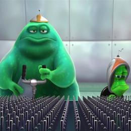 Quase abduzido, curta metragem clássico da Pixar