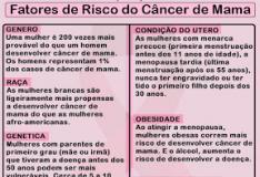 Outubro Rosa - Câncer de mama: