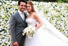 Casamento de Marina Ruy Barbosa reuniu constelação do showbiz