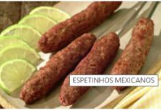 Espetinhos Mexicanos