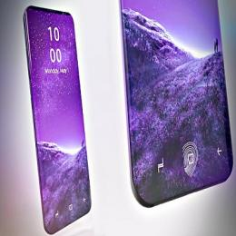 Galaxy S9 pode não vir com leitor de digitais na tela
