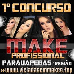 Primeiro concurso online de maquiagem profissional