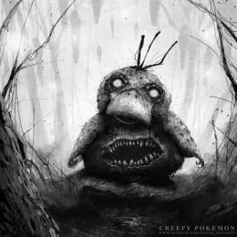Artista recria traços de personagens de Pokémon mais sombrios !