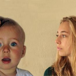 O pai captura sua filha crescendo desde o nascimento até 18 anos de idade