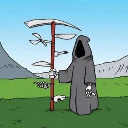 Cartoons: o lado engraçado da morte