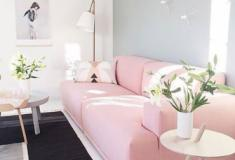 Sofá colorido na decoração!