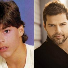 Os integrantes do grupo musical Menudo antes e depois