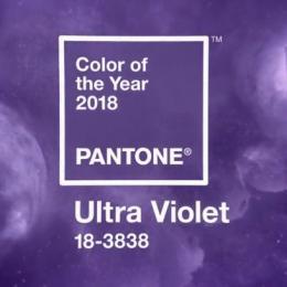 A cor de 2018