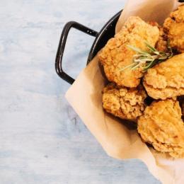 Receita de frango crocante e fit