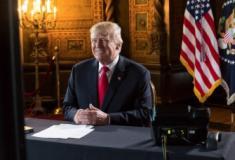 Trump reclama de defesa a imigrantes ilegais após ter governo paralisado nos EUA