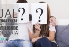 Qual a diferença entre infertilidade primária e infertilidade secundária?