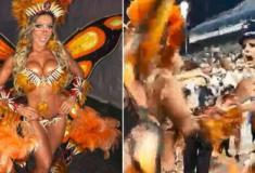 Musas de Carnaval saem no tapa em ensaio da Gaviões da Fiel
