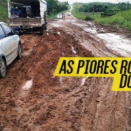 Conheça as 5 piores rodovias do Brasil