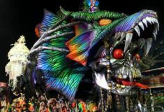 Hopi Hari invade avenida na 1ª noite de desfiles foi destaque