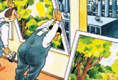 A vida moderna em doze cartuns