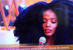 Yasmin não conseguiu emprego por causa do cabelo