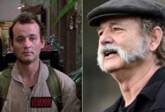 O antes e o depois das estrelas do filme Os Caça-Fantasmas