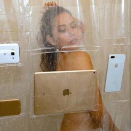 Cortina permite tomar banho e usar smartphone e tablet