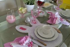 Decoração de mesas para Páscoa!