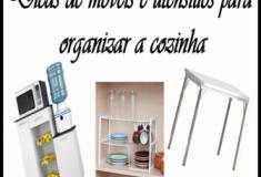 Dicas de móveis e utensílios para organizar a cozinha