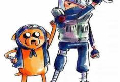 Misturando os personagens do Cartoon Network com Naruto