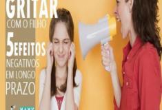 Gritar com o filho. 5 efeitos negativos em longo prazo