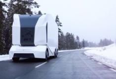 O caminhão autônomo T-pod será lançado em breve